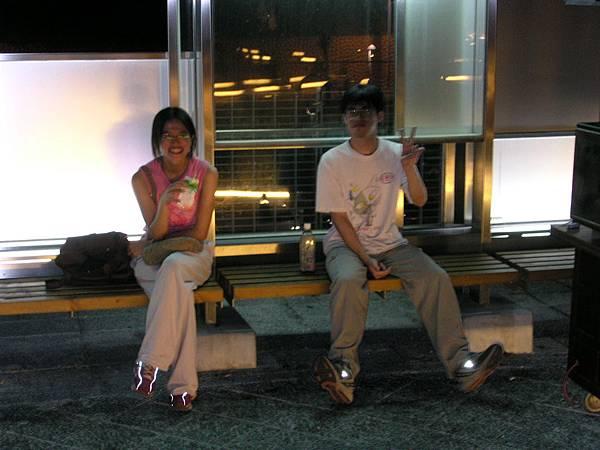 20030812清水休息站(大甲老簡家遊)