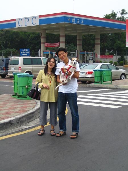 20061031天民小金婚禮-前一天南下,在休息站