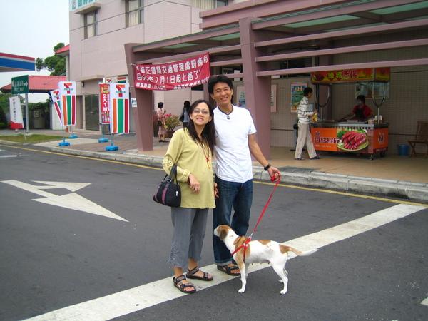 20061031天民小金婚禮-婚禮的前一天,意外地家常