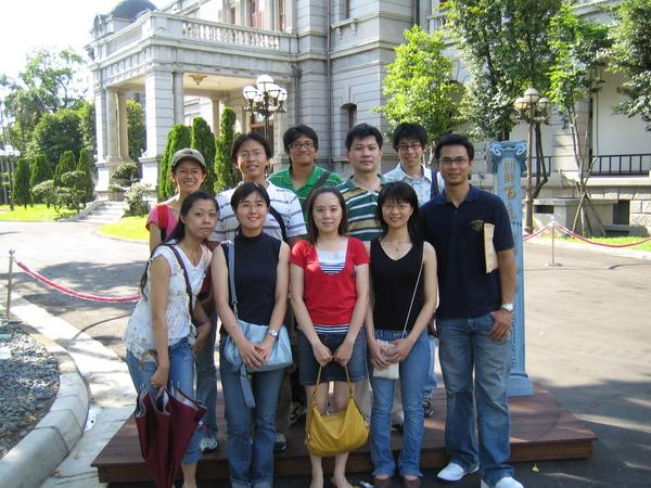 20060812研究室參觀台北賓館