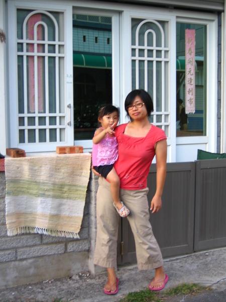禹頡與媽媽小鳳