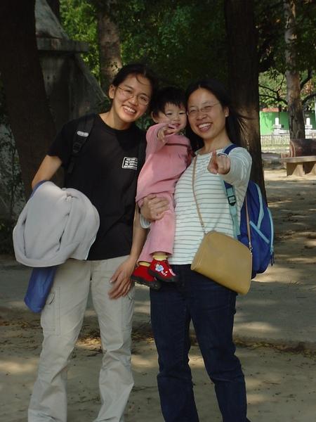 20040222與欣喬及月霞媽咪