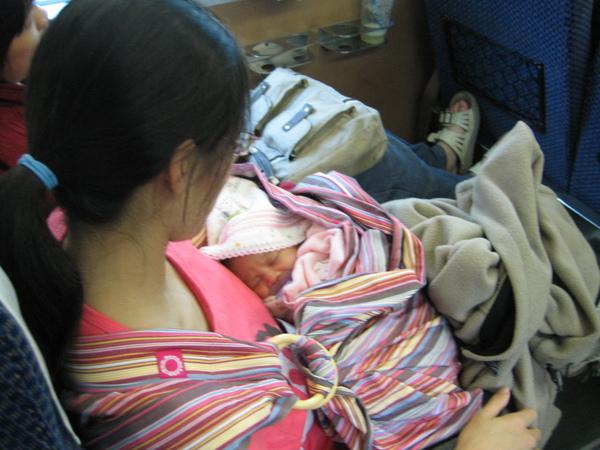 第一次搭火車-去台北阿伯家