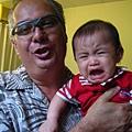 七個月-可愛的Canada grandpa-you're so cute!