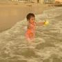 一歲十個月在蒔裡沙灘
