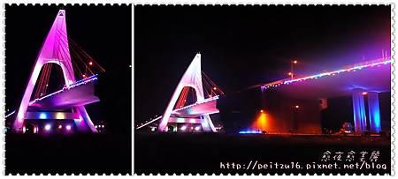 鵬灣橋。愈夜愈美麗