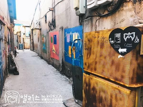 [首爾]文來站:文來洞藝術村(鋼鐵藝術村)-문래동예술촌(철강예술촌)