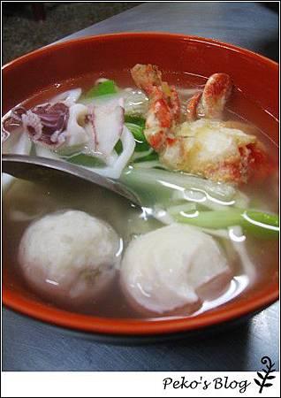 綜合海鮮麵