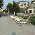終於找到公共腳踏車了