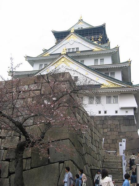 大阪城公園的天守閣