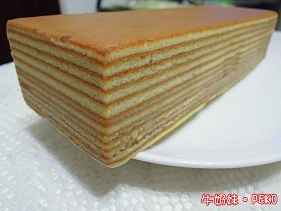 蜂蜜千層蛋糕01