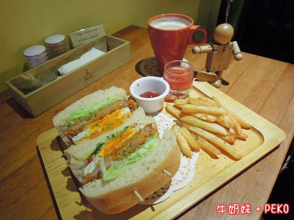 板橋 江子翠 奈野咖啡 NaiYe cafe 早午餐08