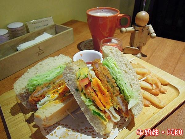 板橋 江子翠 奈野咖啡 NaiYe cafe 早午餐09