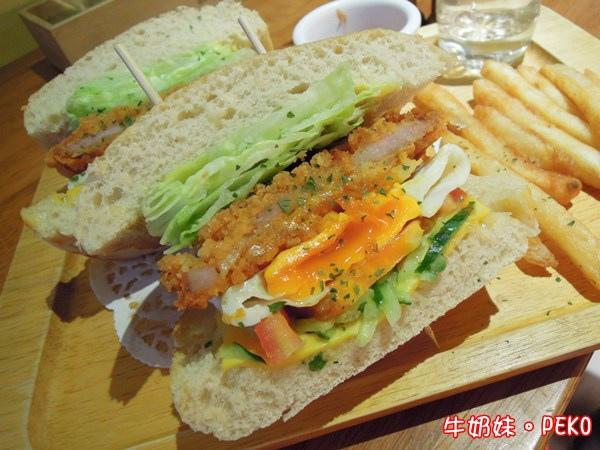 板橋 江子翠 奈野咖啡 NaiYe cafe 早午餐10