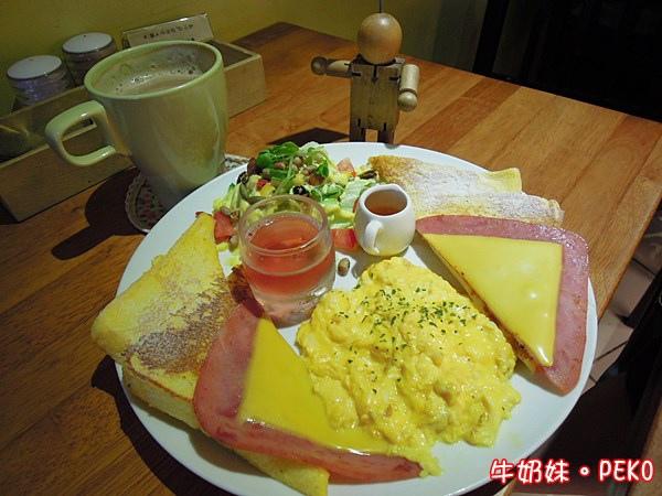 板橋 江子翠 奈野咖啡 NaiYe cafe 早午餐12