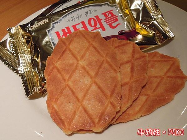 樂天市場 Yummy Box 韓國CROWN鮮奶油鬆餅