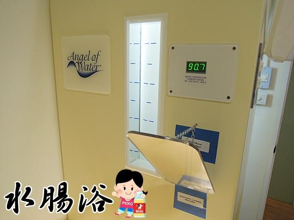 水腸浴SPA 腸浴 水天使診所 台北 大腸水療 宿便