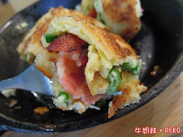 南京東路 LoCo Food 樂口福 早午餐  樂口捲  酥皮蛋捲 漢堡07