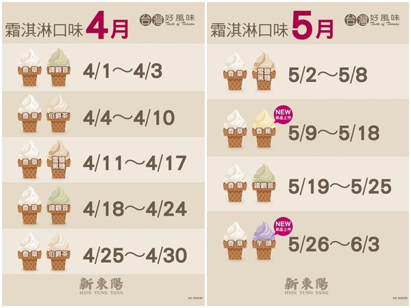 新東陽霜淇淋 新東陽 霜淇淋門市 冰淇淋07