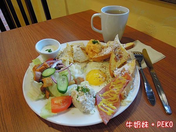 板橋 早午餐 饗樂食間 江子翠 咖啡05