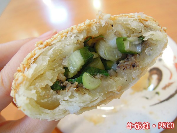 板橋美食 明園江浙點心 蔥花酥餅 豆沙酥餅05