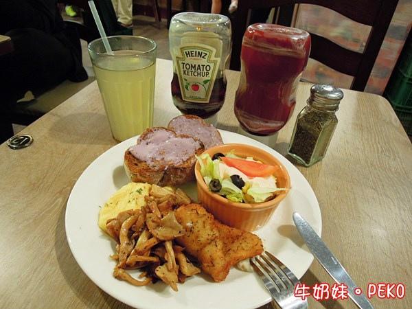 西門町 早餐 早午餐 餐廳 花嘴廚房 大嘴鳥05