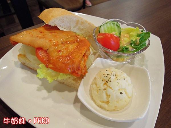 板橋 西洋風咖啡館 輕食 早午餐 寵物餐廳07