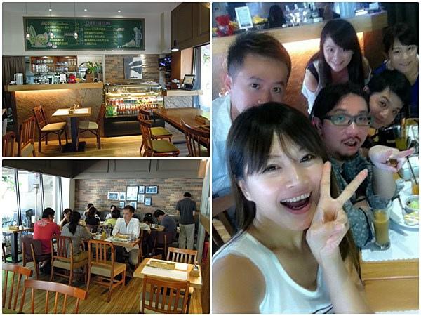 蕾香焙 咖啡 輕食 早午餐 班尼迪克蛋 Pizza 南京東路 義大利麵02