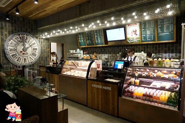 Caffe bene 韓國咖啡館 張根碩代言 東區咖啡店 不限時 Caffe bene菜單 派思脆 巧克力惡魔刨冰 蒜香起司吐司03