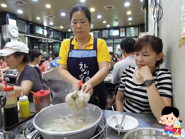 韓國 首爾 東大門 陳玉華一隻雞 營業時間  地址 中文菜單 價格06