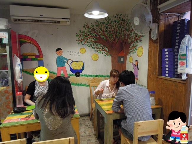 韓國首爾必吃美食 弘大美食 惠化石頭大叔PIZZA 石頭大叔披薩 石頭大叔中文菜單12