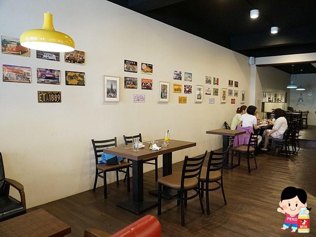板橋 西洋風咖啡館 輕食 早午餐 寵物友善餐廳 厚鬆餅02
