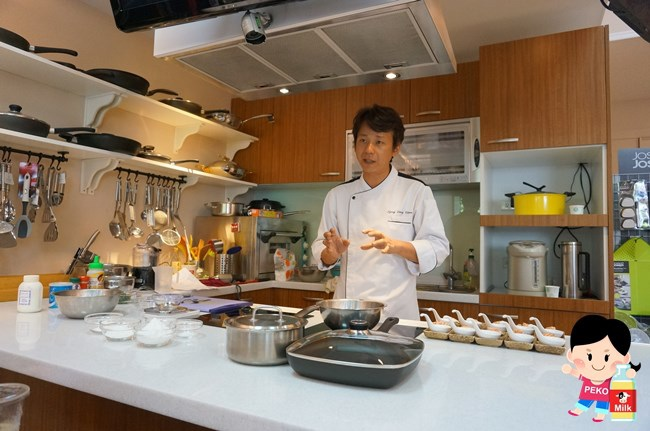 均岱體驗廚房 均岱鍋具 免費課程  廚藝教室 免費廚藝課程 分子料理 Hello Kitty水瓶 SCANPAN1018
