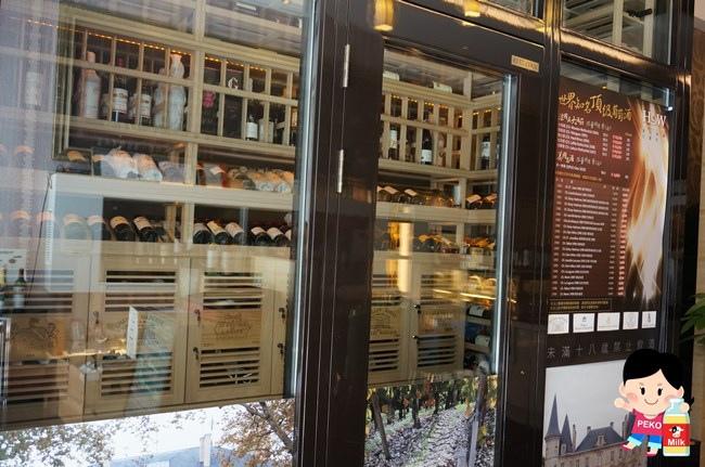 HoWINE & CAFE 東區下午茶 東區輕食 紅白酒單杯機 東區甜點 玫瑰蘋果塔 東區咖啡館05
