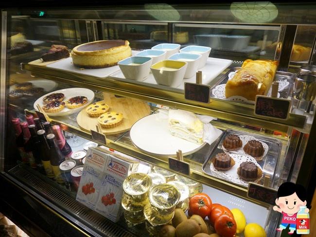敲敲咖啡KNOCK KAFE 東區咖啡館 東區甜點 東區下午茶 檸檬塔 香蕉塔03