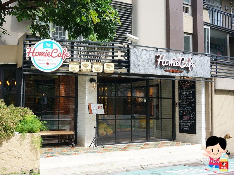 Homie Cafe 東區輕食餐廳 東區美式餐廳 隨你搭 紅磚咖啡店 Homie Cafe菜單01