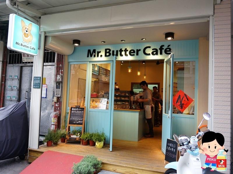 Mr. Butter 奶油先生  Pinkoi 寵物友善餐廳 板橋咖啡店 柯基店狗 板橋寵物餐廳 鹹派 貝果 司康 板橋奶油先生地址01