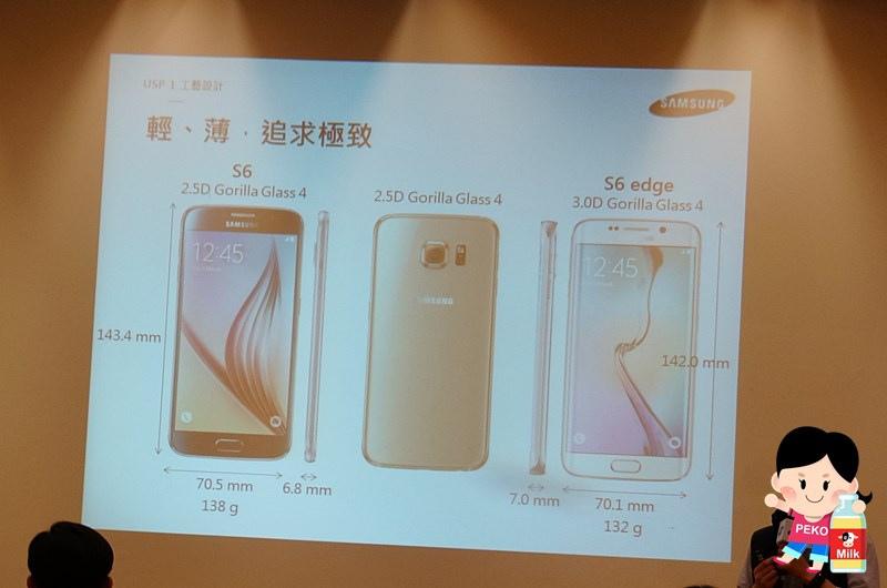 Samsung Galaxy S6  Galaxy S6 Edge Samsung旗艦機  動態對焦 無線充電 閃電快充 雙曲面螢幕 雙曲面側螢幕06