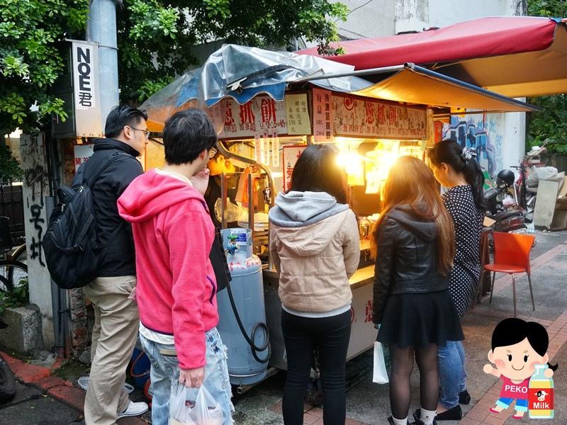 東區蔥抓餅 非常好吃蔥抓餅 食尚玩家推薦 東區下午茶 東區小吃01
