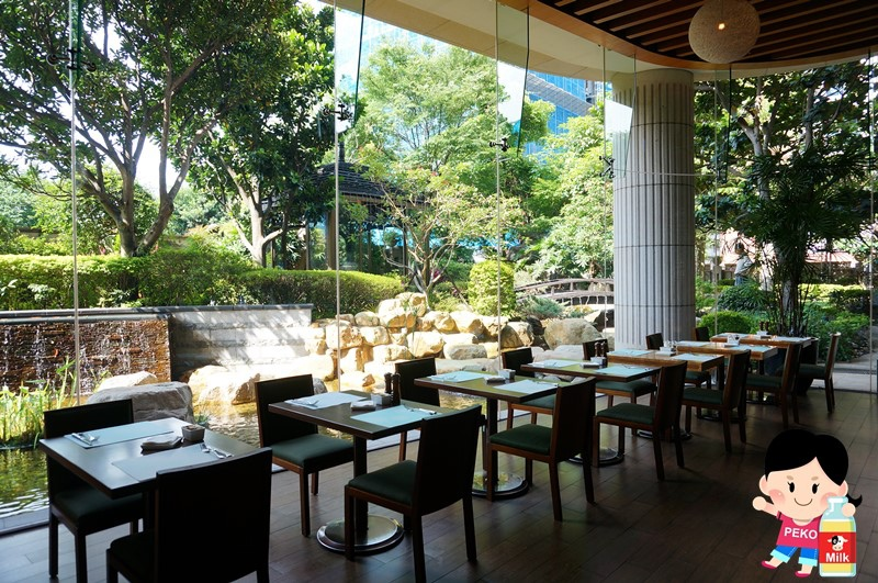美麗信花園酒店 青庭花園餐廳下午茶05