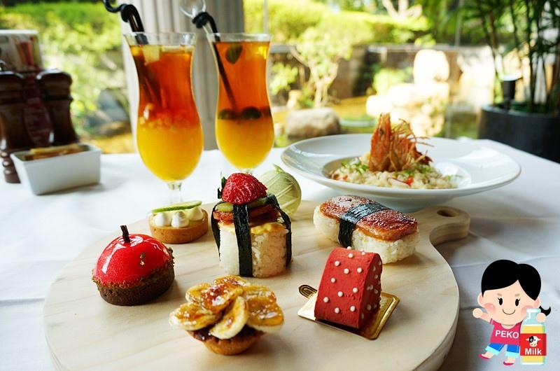 美麗信花園酒店 青庭花園餐廳下午茶10