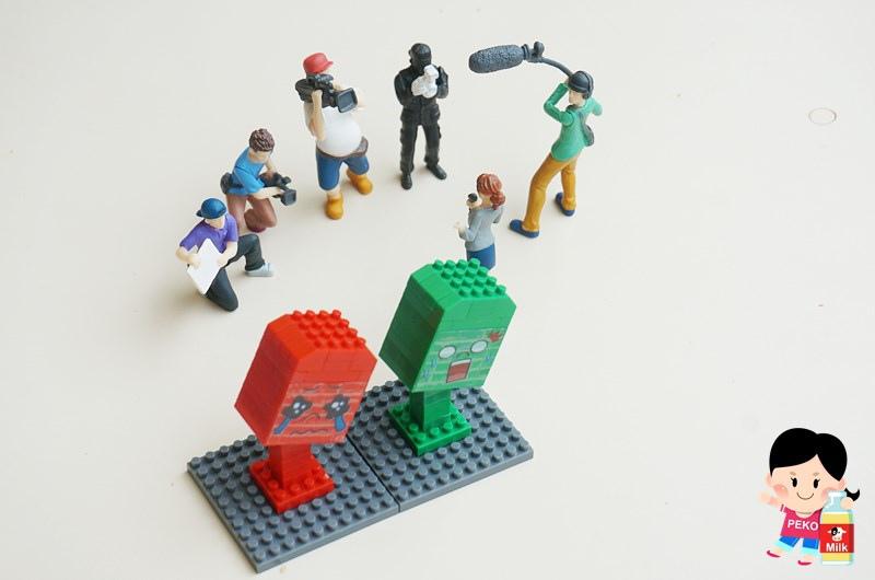 柚子軒 歪腰郵筒 超微型積木09