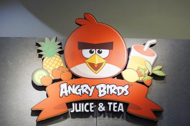 憤怒鳥主題餐廳 Angry Birds Juice&Tea01