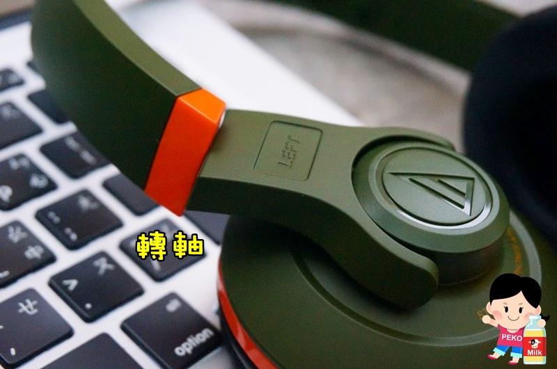 鐵三角 Audio-technica-街頭DJ風格可折疊式頭戴耳機(ATH-S300)04