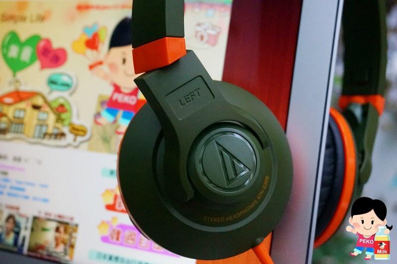 鐵三角 Audio-technica-街頭DJ風格可折疊式頭戴耳機(ATH-S300)03