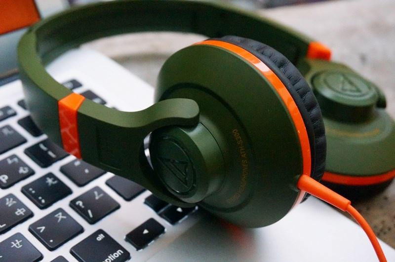 鐵三角 Audio-technica-街頭DJ風格可折疊式頭戴耳機(ATH-S300)08