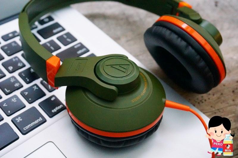 鐵三角 Audio-technica-街頭DJ風格可折疊式頭戴耳機(ATH-S300)09