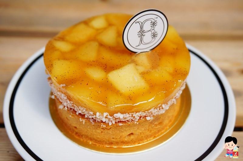 板橋美食.Bonheur Bonne Heure.綠洲檸檬塔.楓糖蘋果塔.閃電泡芙.板橋甜點.板橋下午茶