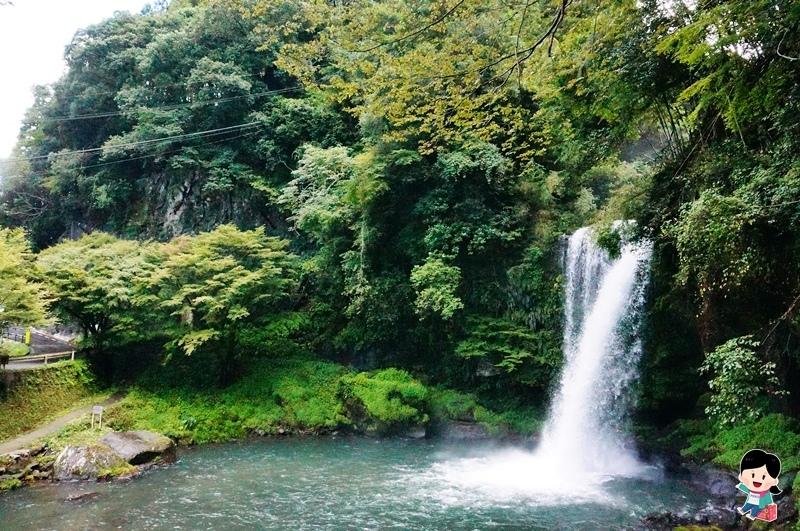 慈恩の滝 瀑布.桜滝 瀑布.九州小京都
