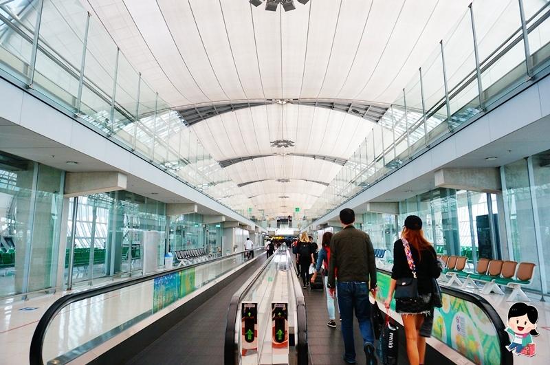 泰航TG637.泰航.泰國航空.泰航總部.Thai Airways.Suvarnabhumi Aiport.新曼谷國際機場.泰航行李重量限制.